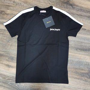Palm Angels Shoulder Line Black Tshirt MEN